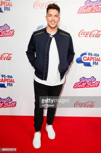 Matt Terry attends the Capital FM Jingle Bell Ball with CocaCola at The O2 Arena on December 10 2017 in London England
