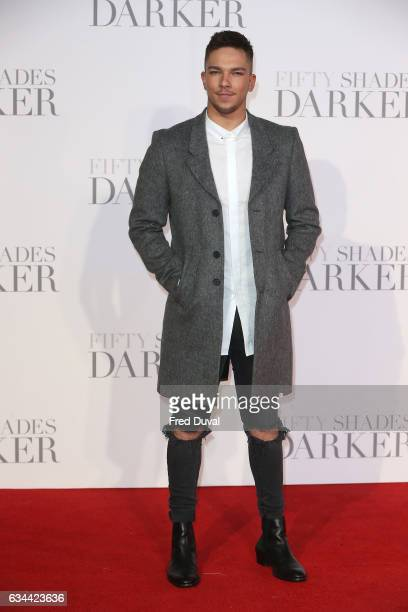 Matt Terry attends the 'Fifty Shades Darker' UK Premiere on February 9 2017 in London United Kingdom