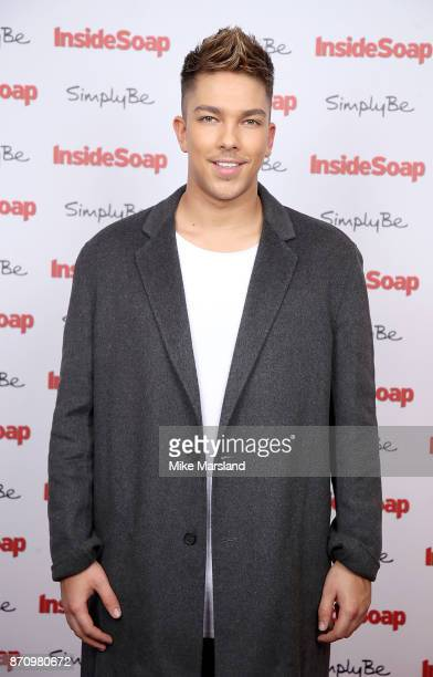 Matt Terry attends the Inside Soap Awards held at The Hippodrome on November 6 2017 in London England