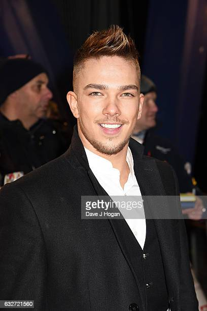 Matt Terry attends the National Television Awards at Cineworld 02 Arena on January 25 2017 in London England
