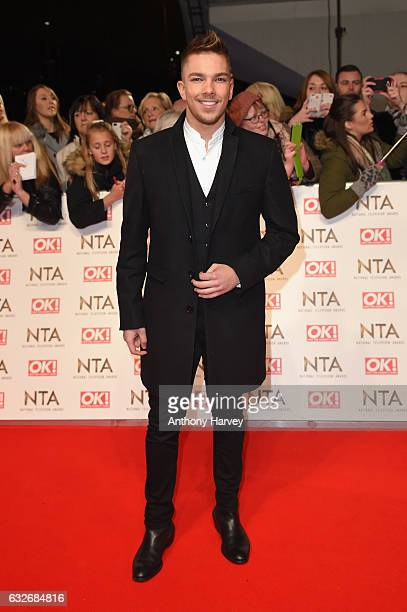 Matt Terry attends the National Television Awards on January 25 2017 in London United Kingdom