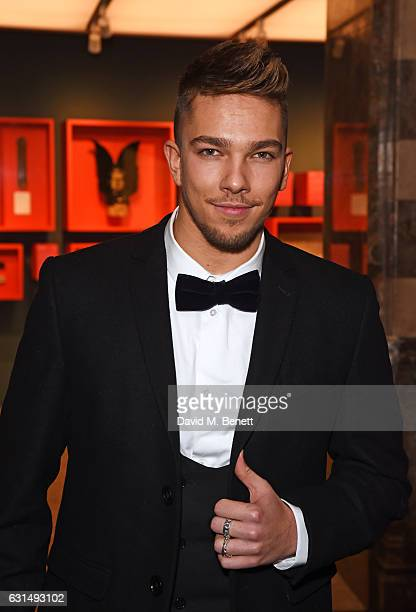 Matt Terry attends the opening night reception of the English National Ballet's production of 'Giselle' hosted by St Martins Lane on January 11 2017...