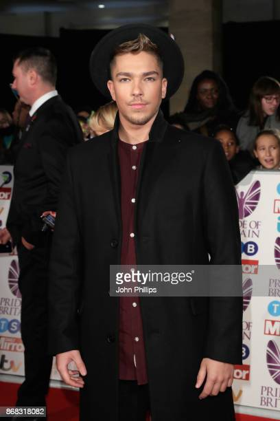 Matt Terry attends the Pride Of Britain Awards at Grosvenor House on October 30 2017 in London England