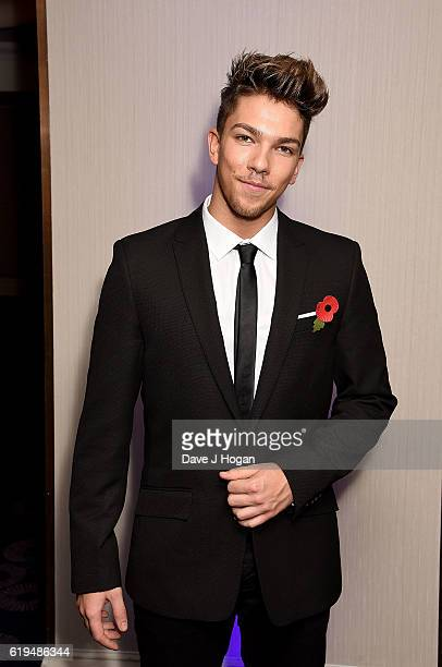 Matt Terry attends the Pride Of Britain Awards at The Grosvenor House Hotel on October 31 2016 in London England