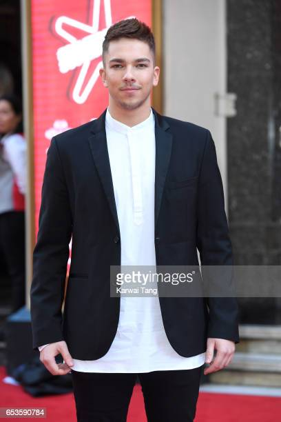Matt Terry attends the Prince's Trust Celebrate Success Awards at the London Palladium on March 15 2017 in London England