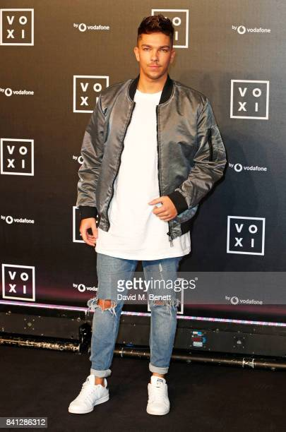Matt Terry attends the VOXI launch party at Brick Lane Yard on August 31 2017 in London England