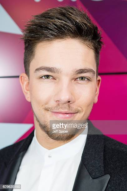 Matt Terry visits at Kiss FM Studio's on December 14 2016 in London England