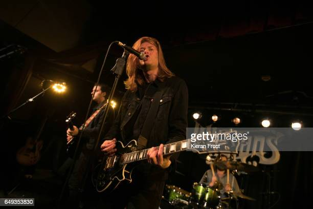 Matt Thomson of The Amazons performs at Whelan's on March 7 2017 in Dublin Ireland