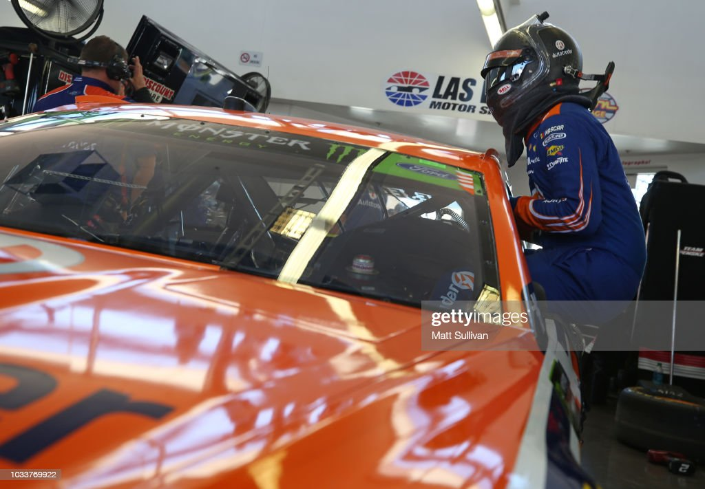 Monster Energy NASCAR Cup Series SouthPoint 400 -Practice : News Photo