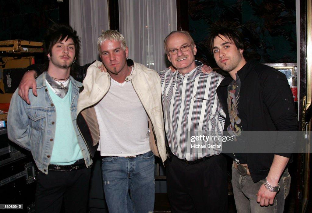 Matt Toka, Shawn, co-producer Bill Aucoin and Jason Levis