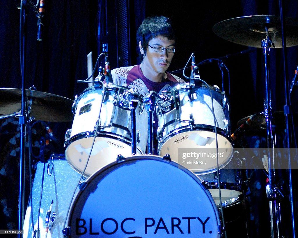 Bloc Party in Concert at Hi-Fi Buys Amphitheatre in Atlanta - November 9, 2006