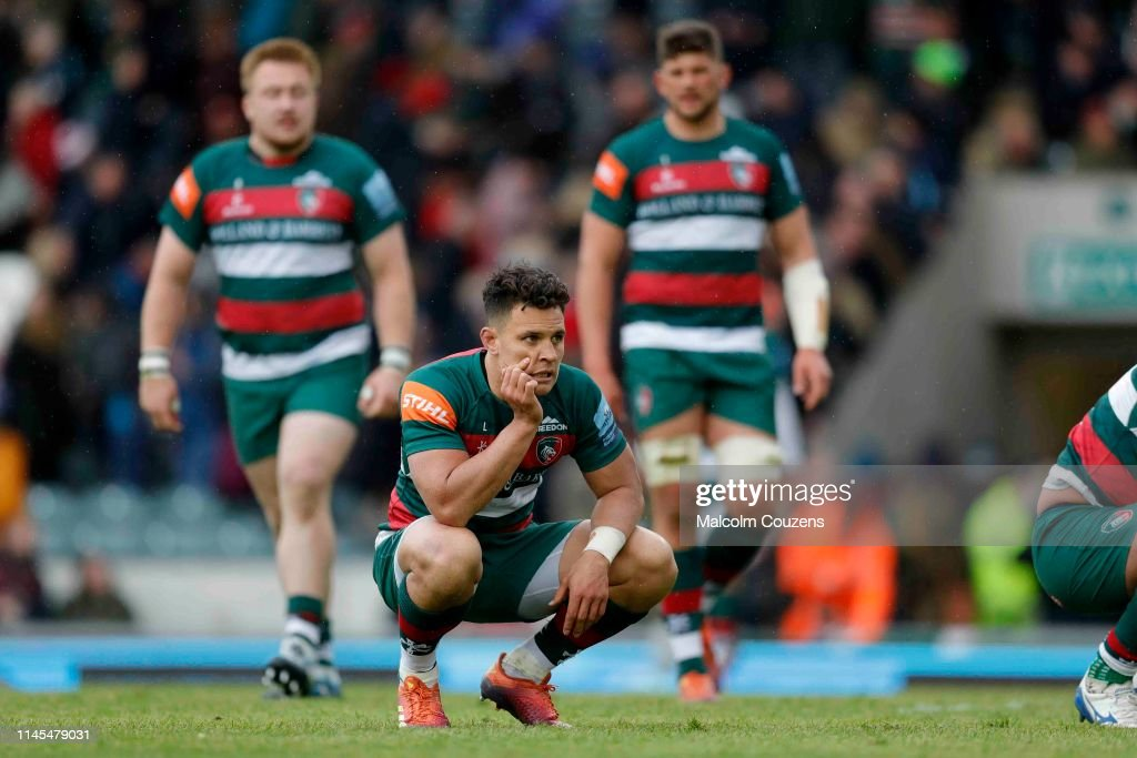 Leicester Tigers v Bristol Bears - Gallagher Premiership Rugby : News Photo