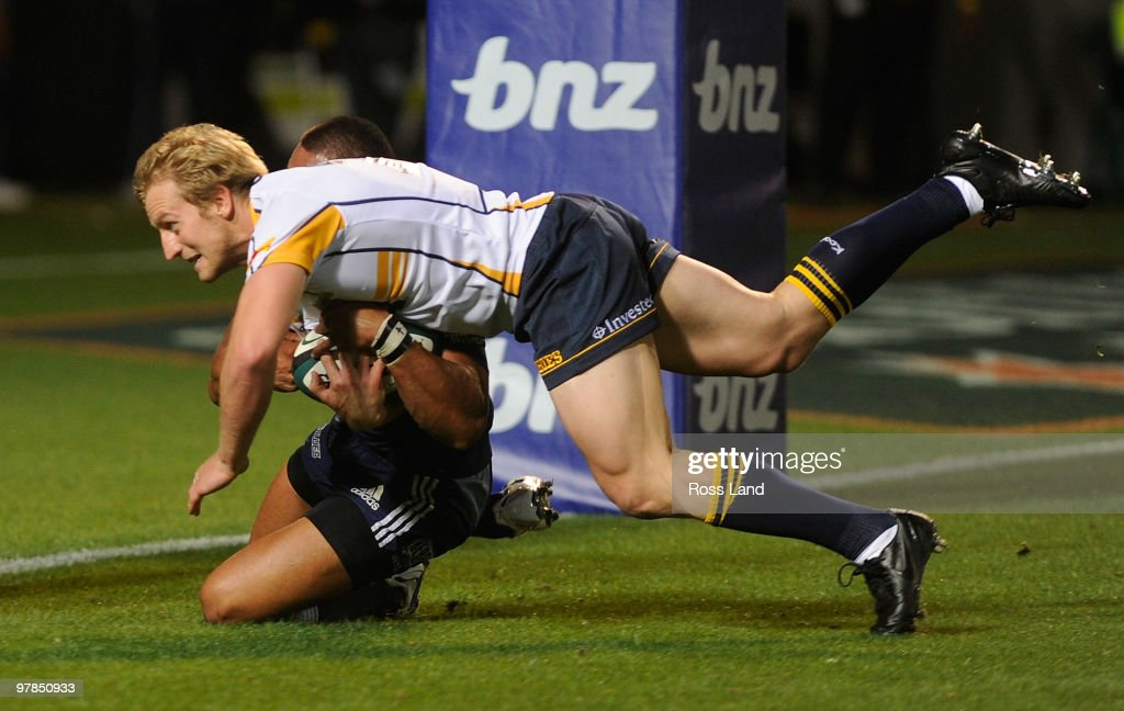 Super 14 Rd 6 - Blues v Brumbies
