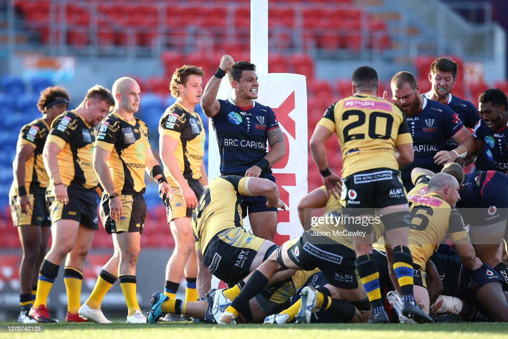 Super Rugby AU Rd 10 - Rebels v Force : News Photo