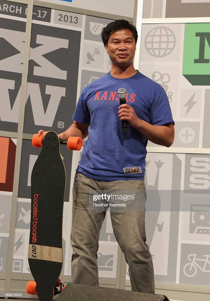 Matt Tran of 'Boosted Boards' attends the Tales of US Entrepreneurship Beyond Silicon Valley panel during the 2013 SXSW Music, Film + Interactive Festival at Austin Convention Center on March 8, 2013 in Austin, Texas.