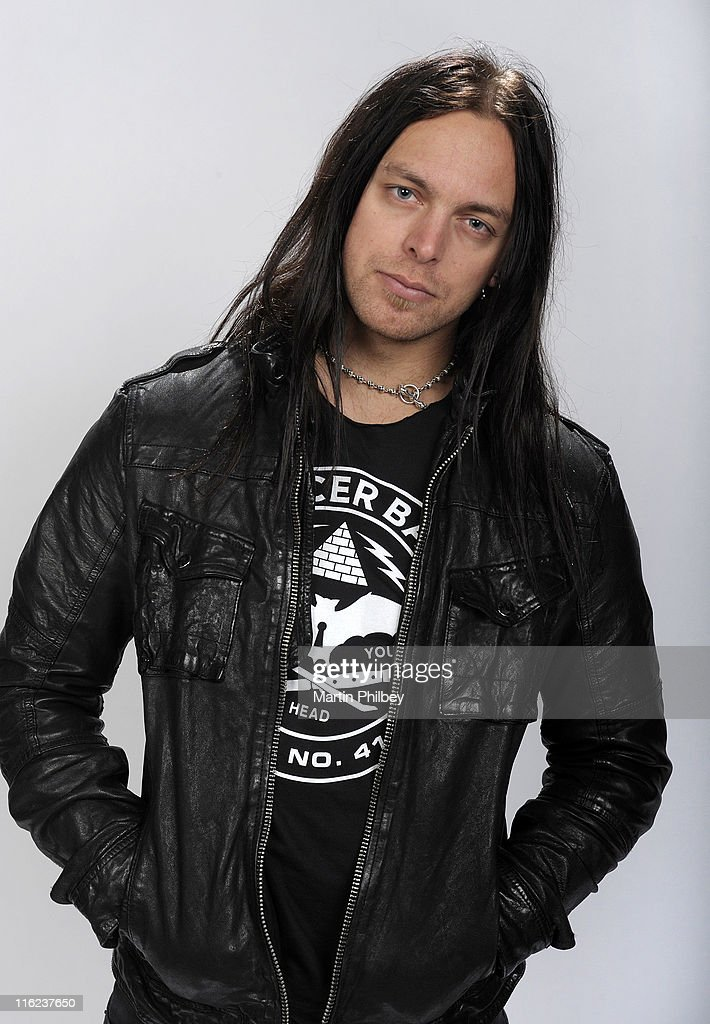 Schön Matt Tuck Of Bullet For My Valentine Poses For Portraits At Festival Hall  On 9th September