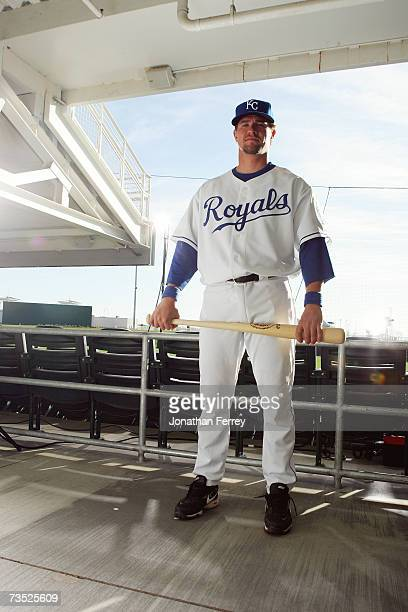 Matt Tupman of the Kansas City Royals poses for a portrait during Photo Day on February 25 2007 at Surprise Stadium in Surprise Arizona