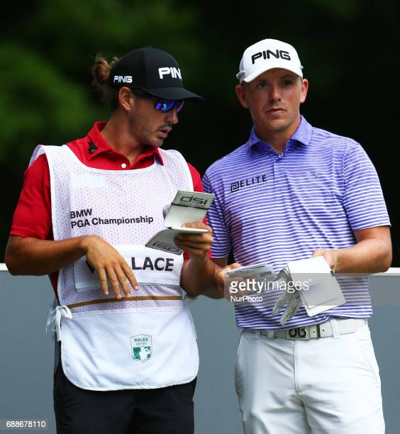 Matt Wallace of England during 1st Round for the 2017 BMW PGA Championship on the west Course at Wentworth on May 25 2017 in Virginia WaterEngland