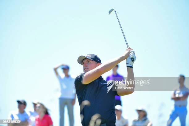 Matt WALLACE of England during the HNA French Open on June 28 2018 in SaintQuentinenYvelines France
