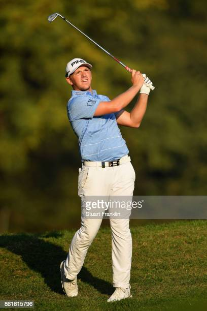 Matt Wallace of England looks on during the final round of the 2017 Italian Open at Golf Club Milano Parco Reale di Monza on October 15 2017 in Monza...