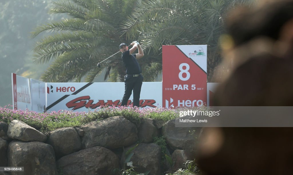 Hero Indian Open - Day Two : News Photo
