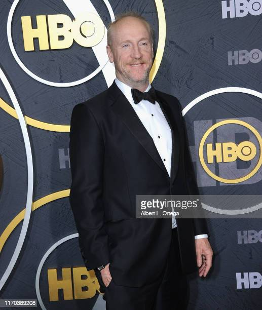 Matt Walsh arrives for the HBO's Post Emmy Awards Reception held at The Plaza at the Pacific Design Center on September 22, 2019 in West Hollywood,...