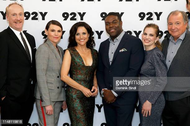 Matt Walsh Clea DuVall Julia LouisDreyfus Sam Richardson Anna Chlumsky and Kevin Dunn visit 92nd Street Y to discuss 'Veep' at 92nd Street Y on May...