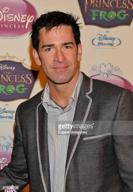 Matt Walton attends Princess Tiana's official induction into the Disney Princess Royal Court and The Princess and the Frog DVD launch at The New York...