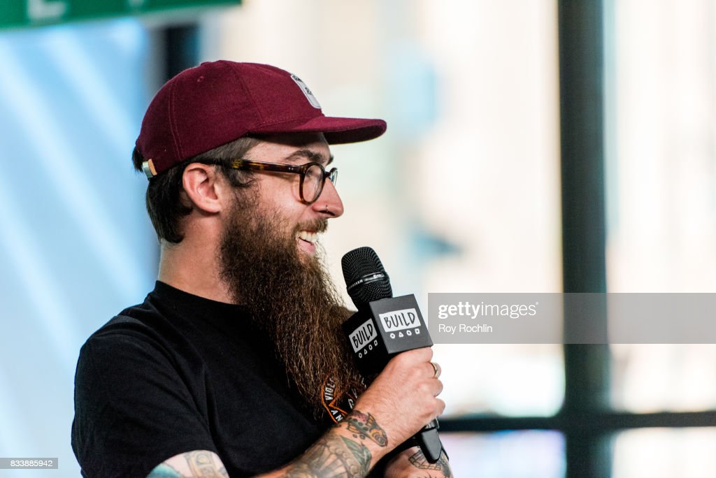 Matt West of Neck Deep discusses 'The Peace and The Panic' with the Build Series at Build Studio on August 17, 2017 in New York City.