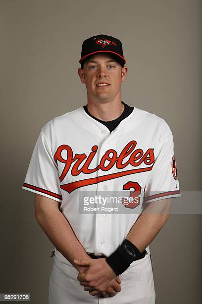 Matt Wieters of the Baltimore Orioles poses during Photo Day on Saturday February 27 2010 at Ed Smith Stadium in Sarasota Florida