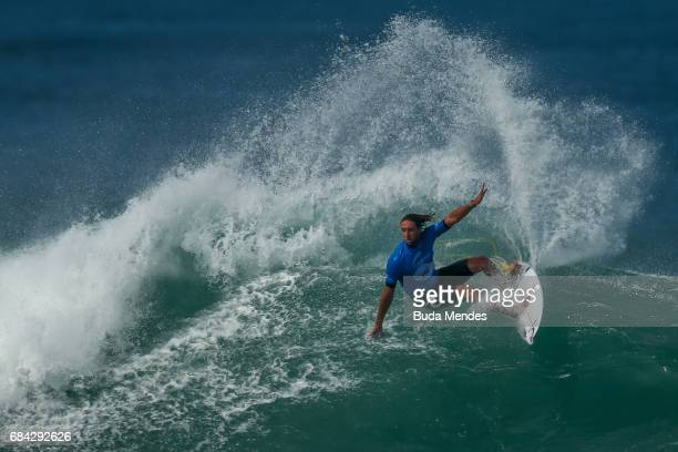 Matt Wilkinson of Australia surfs during the quarterfinals of the Oi Rio Pro 2017 at Itauna Beach on May 17 2017 in Saquarema Brazil