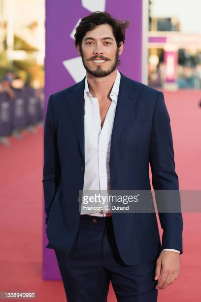"""Matt William Knowles attends the """"Inexorable"""" red carpet during the 47th Deauville American Film Festival on September 07, 2021 in Deauville, France."""