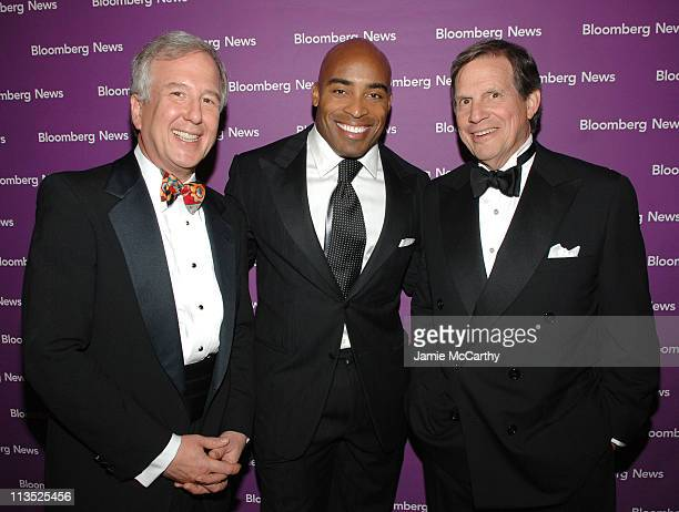 Matt Winkler Editor in Chief of Bloomberg News Tiki Barber and Peter Grauer President and CEO Bloomberg LP