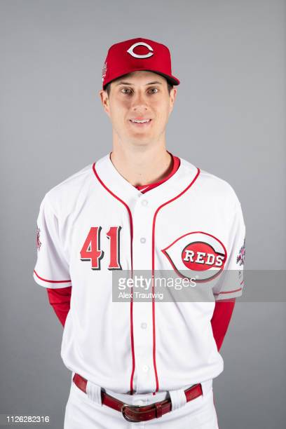 Matt Wisler of the Cincinnati Reds poses during Photo Day on Tuesday February 19 2019 at Goodyear Ballpark in Goodyear Arizona