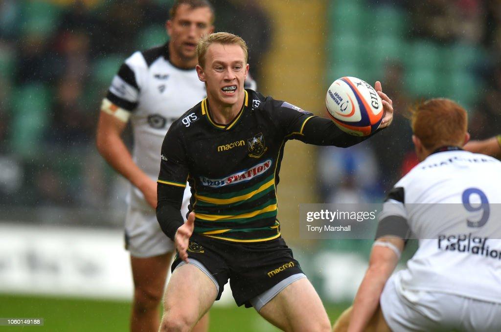 Northampton Saints v Bristol Rugby - Premiership Rugby Cup : News Photo