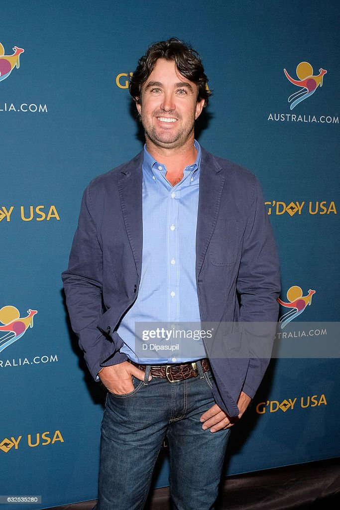 Matt Wright attends A Virtual Tour of Australia at Hudson Mercantile on January 23, 2017 in New York City.