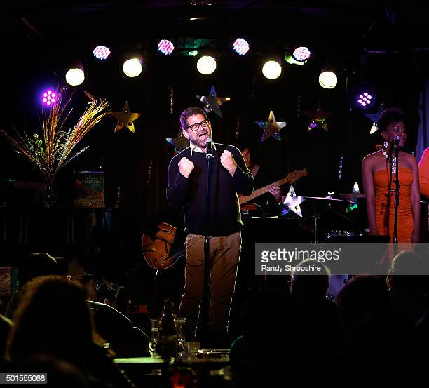 Matt Zarley attends Sparkle LA a benefit for The Actors Fund at Rockwell Table Stage on December 15 2015 in Los Angeles California