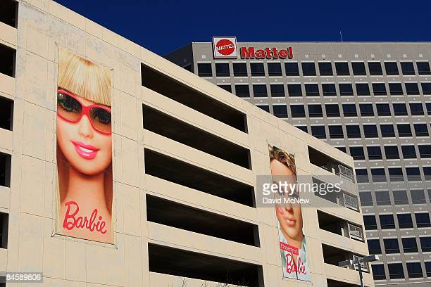 Mattel Inc offices are seen February 2 2009 in the Los Angeles area community of El Segundo California Fourthquarter profits for the toy maker giant...
