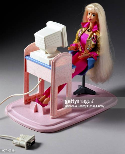 Mattel launched this version of the everpopular Barbie doll for Christmas 1997 Barbie's own computer links to the serial port of the user's computer...