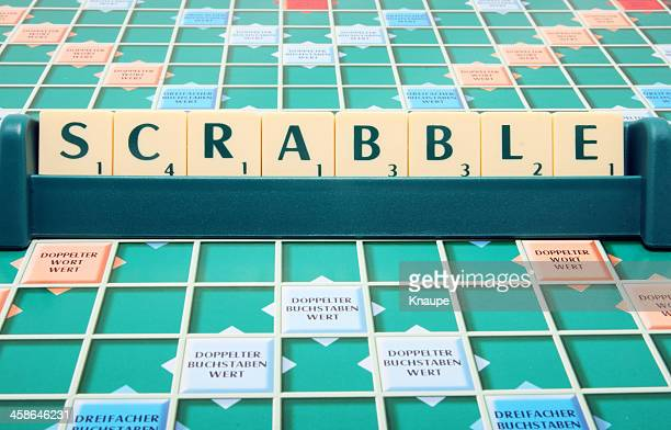 Mattel's family board game Scrabble