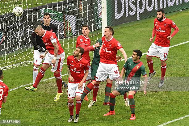 Matteo Ardemagni of AC Perugia in action during the Serie B match between AC Perugia and Ternana Calcio at Stadio Renato Curi on March 5 2016 in...