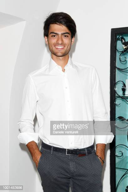 Matteo Bocelli attends 2018 Ischia Global Film Music Fest on July 18 2018 in Ischia Italy