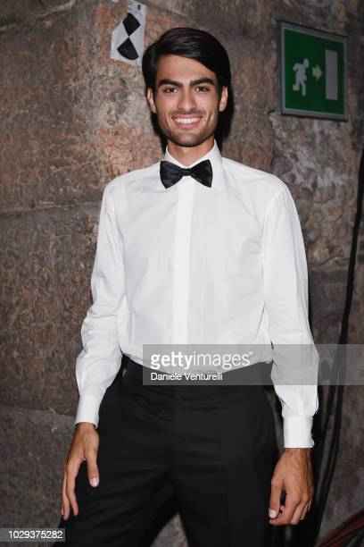 Matteo Bocelli attends Celebrity Fight Night at Arena di Verona on September 8 2018 in Verona Italy