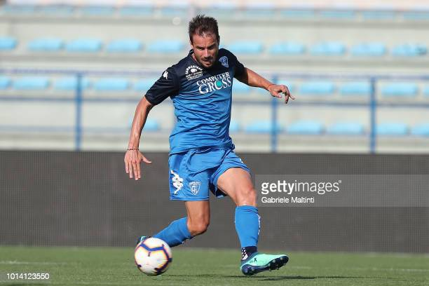 Matteo Brighi of Empoli Fc in action during preseason Friendly match between Empoli FC ans Empoli U19 on August 9 2018 in Empoli Italy