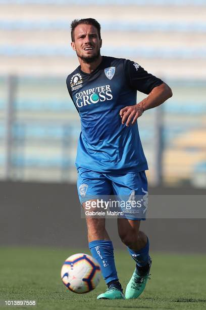 Matteo Brighi of Empoli FC in action during the preseason frienldy match between Empoli FC and Empoli FC U19 on August 9 2018 in Empoli Italy