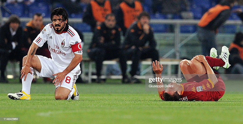 AS Roma v AC Milan - Serie A : News Photo