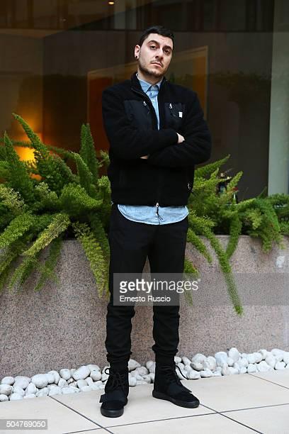 Matteo Corradini attends a photocall for 'THE PILLS Sempre Meglio Che Lavorare' on January 13 2016 in Rome Italy