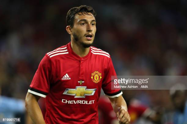 Matteo Darmian of Manchester United during the International Champions Cup 2017 match between Manchester United and Manchester City at NRG Stadium on...