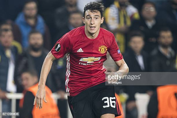 Matteo Darmian of Manchester United FCuring the UEFA Europa Leaguegroup A match between Fenerbahce and Manchester United on November 3 2016 at the...