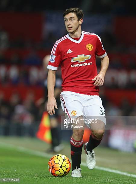 Matteo Darmian of Manchester United in action during the Barclays Premier League match between Manchester United and Chelsea at Old Trafford on...